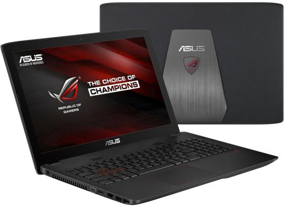 "Ноутбук ASUS GL552VX-CN368T 15.6"" 1920x1080 Intel Core i7-6700HQ 1 Tb 8Gb nVidia GeForce GTX 950M 4096 Мб серый Windows 10 Home 90NB0AW3-M04550"