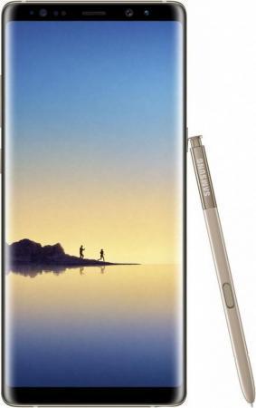 Смартфон Samsung Galaxy Note 8 желтый топаз 6.3 64 Гб NFC LTE Wi-Fi GPS 3G SM-N950FZDDSER водяной спринклерный ротационный ороситель truper 10303
