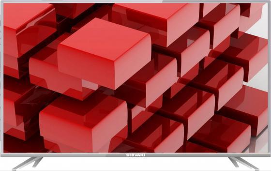 Телевизор LED 49 SHIVAKI STV-49LED16 серебристый 1920x1080 VGA SCART жк телевизор supra 39 stv lc40st1000f stv lc40st1000f