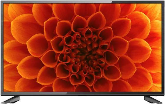 """Телевизор 32"""" Hartens HTV-32R011B-T2/PVR черный 1366x768 50 Гц Wi-Fi Smart TV VGA RJ-45 YPbPr"""