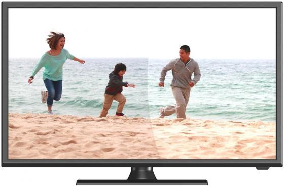 """Телевизор LED 22"""" Hartens HTV-22F011B-T2/PVR черный 1920x1080 HDMI USB VGA SCART S/PDIF"""