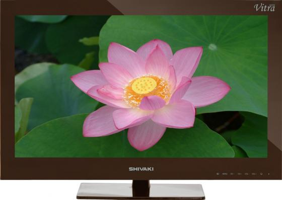 Телевизор LED 24 SHIVAKI STV-24LEDGM9 коричневый 1920x1080 VGA HDMI USB SCART