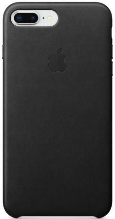 Накладка Apple Leather Case для iPhone 7 Plus iPhone 8 Plus чёрный MQHM2ZM/A чехол накладка apple leather case geranium для iphone 7 plus mq5h2zm a кожа красный