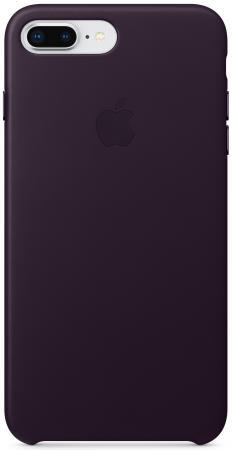 Накладка Apple Leather Case для iPhone 7 Plus iPhone 8 Plus баклажанный MQHQ2ZM/A mercury goospery milano diary wallet leather mobile case for iphone 7 plus 5 5 grey