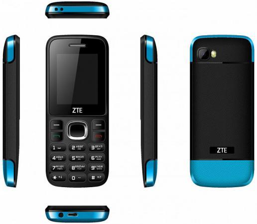 Телефон ZTE R550 черный синий 1.77 телефон zte r550 черный синий 1 77
