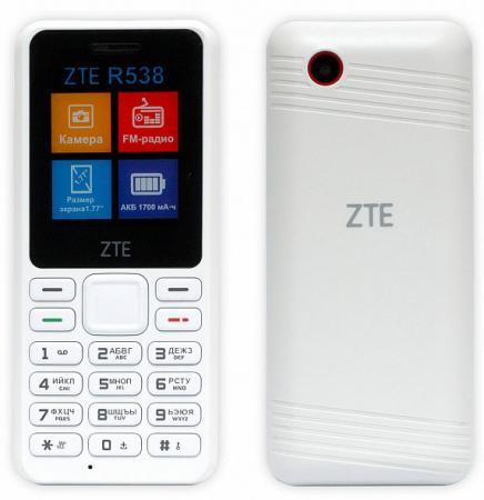 ZTE R538 White Мобильный телефон