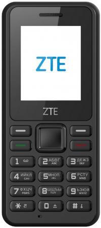 Мобильный телефон ZTE R538 черный 1.77 4 Мб мобильный телефон zte f327 белый