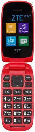 Мобильный телефон ZTE R341 красный 1.7 32 Гб мобильный телефон zte r550 красный черный