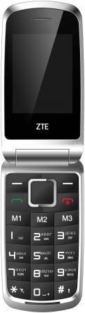 Мобильный телефон ZTE R340E черный 2.4 32 Мб мобильный телефон zte r550 красный черный