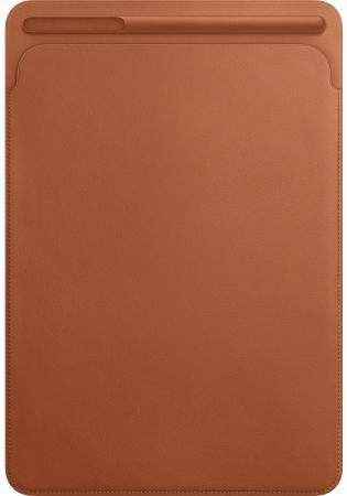 Чехол Apple Leather Sleeve для iPad Pro 10.5 золотисто-коричневый MPU12ZM/A