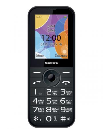 Мобильный телефон Texet TM-B330 антрацит 2.4 32 Гб texet tm b330