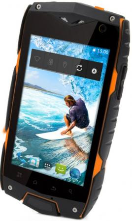 Смартфон Texet TM-4084 оранжевый черный 4 8 Гб LTE Wi-Fi 3G lightstar ls 765 765916