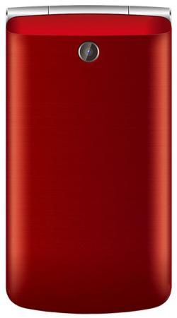 Мобильный телефон Texet TM-404 красный 2.8 texet tm b216 красный мобильный телефон