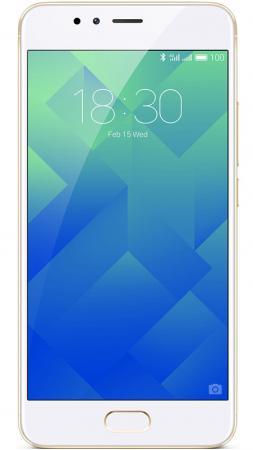 Смартфон Meizu M5s золотистый 5.2 16 Гб LTE Wi-Fi GPS 3G смартфон meizu m5 note серебристый 5 5 32 гб lte wi fi gps 3g