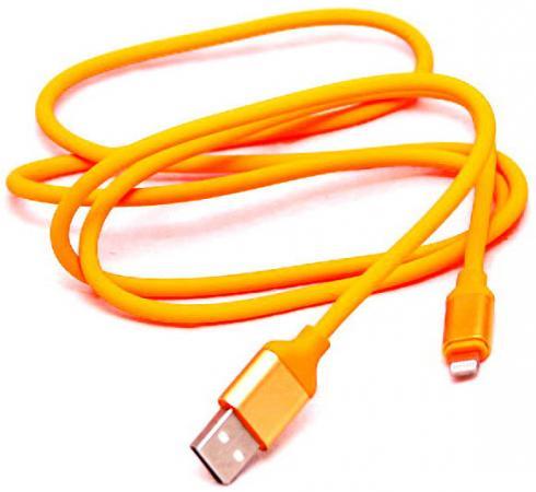 Кабель Lightning 1м Wiiix круглый CB120-U8-10OG кабель lightning 1м wiiix круглый cb120 u8 10b