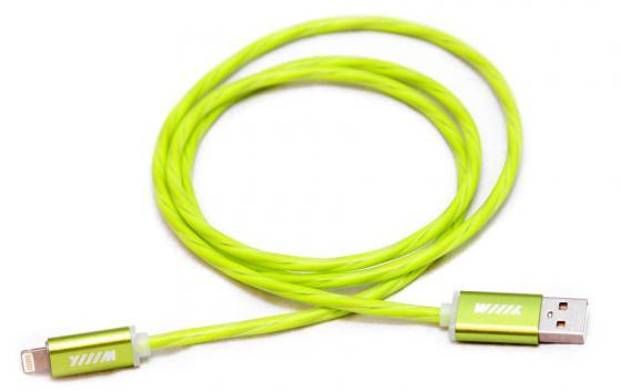 все цены на Кабель Lightning 1м Wiiix круглый CBL710-U8-10G онлайн