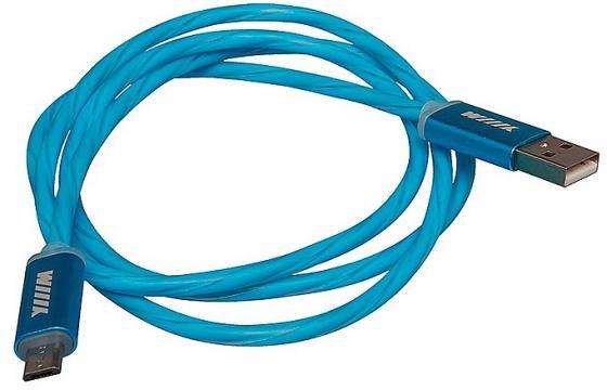 Кабель-переходник WIIIX CBL710-UMU-10BU USB-MicroUSB синий
