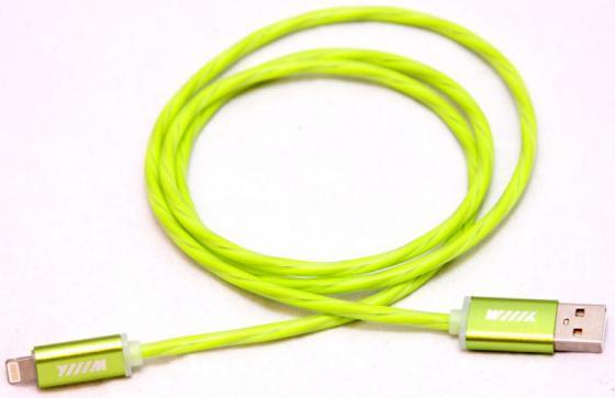 Кабель-переходник WIIIX CBL710-UMU-10G USB-MicroUSB зеленый