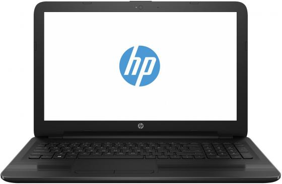 "HP15-bs013ur 15.6""(1366x768)/Intel Core i3 6006U(2Ghz)/4096Mb/128SSDGb/DVDrw/Int:Intel HD/Cam/BT/WiFi/41WHr/war 1y/Jet Black/W10"
