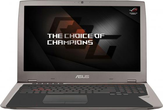 "ASUS ROG G701VIK-GB042T 17.3""(3840x2160 (матовый))/Intel Core i7 7820HK(2.9Ghz)/65536Mb/1024SSDGb/noDVD/Ext:nVidia GeForce GTX1080(8192Mb)/Cam/WiFi/50WHr/war 1y/3.8kg/forge/W10"