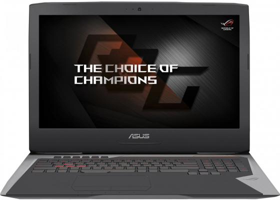 "ASUS ROG G752VS(KBL)-GC438 17.3""(1920x1080 (матовый))/Intel Core i7 7700HQ(2.8Ghz)/16384Mb/1000+256SSDGb/DVDrw/Ext:nVidia GeForce GTX1070(8192Mb)/Cam/BT/WiFi/50WHr/war 1y/4.4kg/forge/DOS"