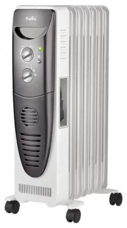 Масляный радиатор BALLU BOH/TB- 07FH 1500 Вт белый чёрный