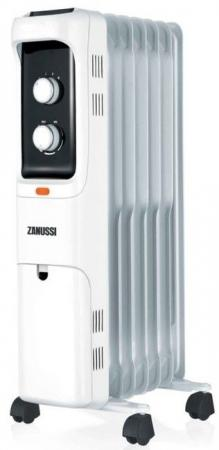 цена на Масляный радиатор Zanussi Loft ZOH/LT-07W 1500 Вт белый