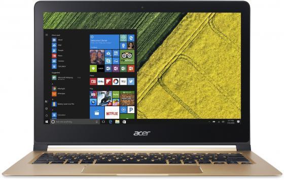 Ноутбук Acer Swift 7 SF713-51 13.3 1920x1080 Intel Core i5-7Y54 256 Gb 8Gb Intel HD Graphics 615 черный Windows 10 Home NX.GN2ER.001 ноутбук acer predator triton 700 pt715 51 78su 15 6 1920x1080 intel core i7 7700hq nh q2ker 003