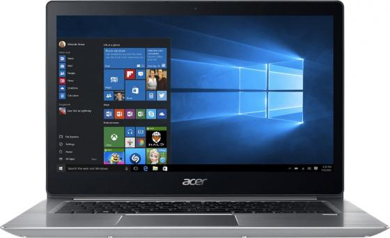 Ультрабук Acer Aspire Swift SF314-52G-59Y1 14 1920x1080 Intel Core i5-8250U 256 Gb 8Gb nVidia GeForce MX150 2048 Мб серебристый Linux NX.GQUER.002 ноутбук msi gl73 8rc 252xru core i5 8300h 8gb 1tb nv gtx1050 4gb 17 3 fullhd dos black