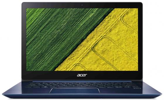 Ультрабук Acer Aspire Swift SF314-52G-879D 14 1920x1080 Intel Core i7-8550U 256 Gb 8Gb nVidia GeForce MX150 2048 Мб синий Linux NX.GQWER.004 mb rfl01 001 laptop motherboard for acer aspire 4743g mbrfl01001 je43 cp mb 48 4ni01 01m hm55 nvidia geforce ddr3 mainboard