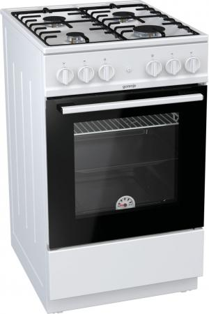 лучшая цена Газовая плита Gorenje GN5111WH белый