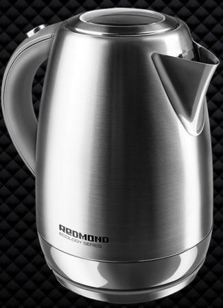 Чайник Redmond RK-M172 2100 Вт серебристый 1.7 л нержавеющая сталь цена