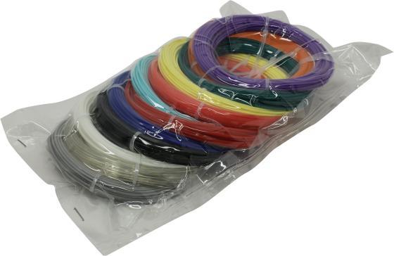 Пластик для ручки 3D Cactus PLA d1.75мм L10м 12цв. CS-3D-PLA-12x10M