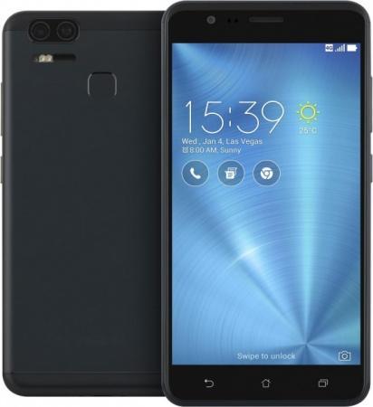 Смартфон ASUS ZenFone 3 Zoom ZE553KL черный 5.5 64 Гб 3G GPS Wi-Fi LTE 90AZ01H3-M00690 смартфон asus zenfone 3 zoom ze553kl серебристый 5 5 64 гб lte wi fi gps 3g 90az01h1 m00770