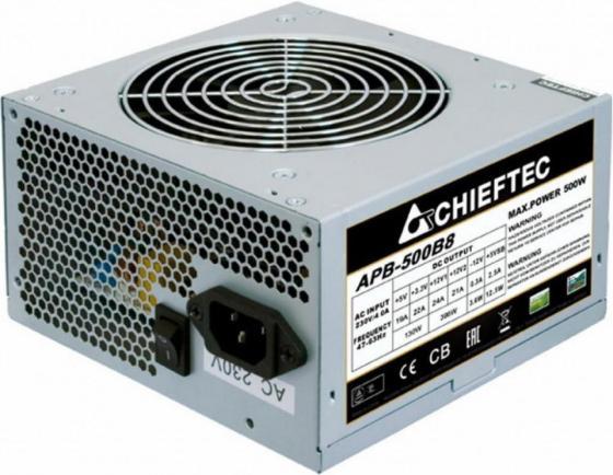 Блок питания ATX 500 Вт Chieftec APB-500B8 блок питания atx 500 вт chieftec bdf 500s