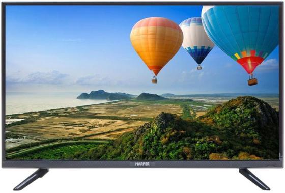 """Телевизор LED 32"""" Harper 32R660T черный 1366x768 50 Гц VGA USB цена"""