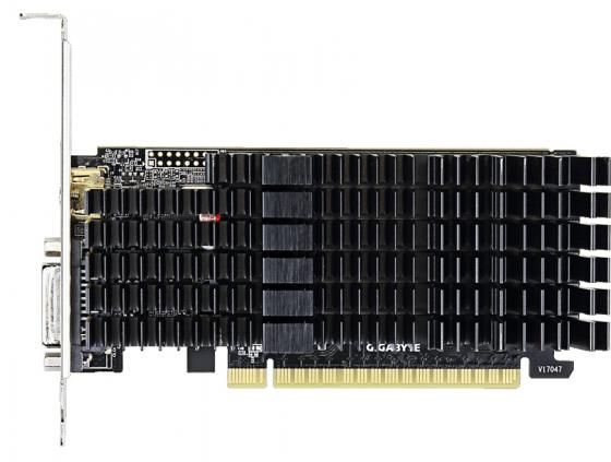 Фото Видеокарта 2048Mb Gigabyte GT710 PCI-E GDDR5 64bit HDMI DVI GV-N710D5SL-2GL Retail pci e to