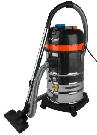 Промышленный пылесос Sturm VC7203 сухая влажная уборка серебристый чёрный деревообрабатывающий станок sturm wm1924