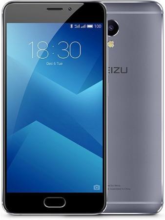 Смартфон Meizu M5 Note серый черный 5.5 16 Гб LTE Wi-Fi GPS 3G смартфон meizu m5 note серебристый 5 5 32 гб lte wi fi gps 3g