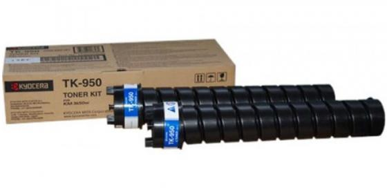 Картридж Kyocera TK-950 для Kyocera KM-3650W черный new original kyocera 2fb16050 idle belt roller for km 8030 6030 ta820 620