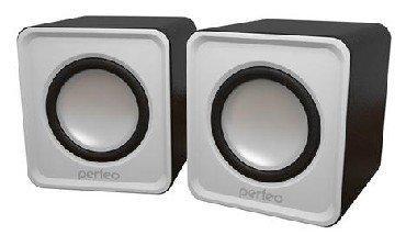 Колонки Perfeo Wave PF-128-W 2x3 Вт USB белый perfeo pf nnm white