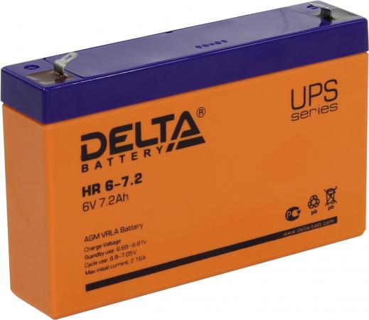 Батарея Delta HR 6-7.2 7.2Ач 6B delta plc programmable logic controller dvp14ss11r2 14 host 8 6 relay