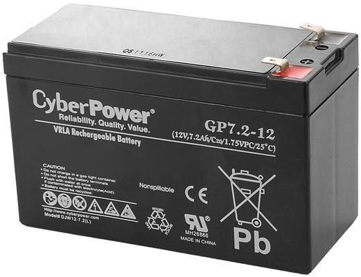 Батарея CyberPower 12V 7.2Ah GP7.2-12 27 16 32 100