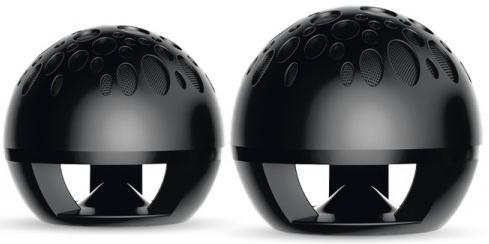 Колонки Perfeo Sphere PF-910 2x5 Вт USB черный колонки perfeo rivera pf 102 2x5 20вт серебристо черный
