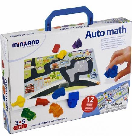 Настольная игра развивающая Miniland (миниленд) АВТОМАТЕМАТИКА 27383