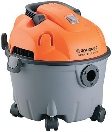 Промышленный пылесос ENDEVER Spectre 6010 сухая уборка оранжевый серый пылесосы endever пылесос endever циклонного типа skyclean 500 vc