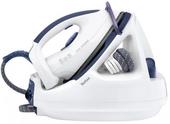 Отпариватель Tefal GV 5245E0 2135Вт синий белый цена и фото