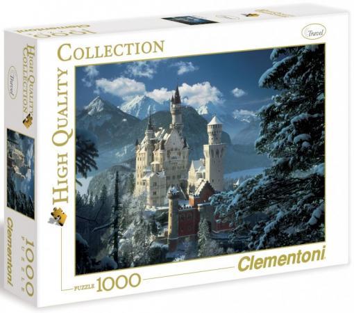 Пазл 1000 элементов Clementoni Бавария зима 31390 пазл clementoni hq щенки лабрадора 1500 31976