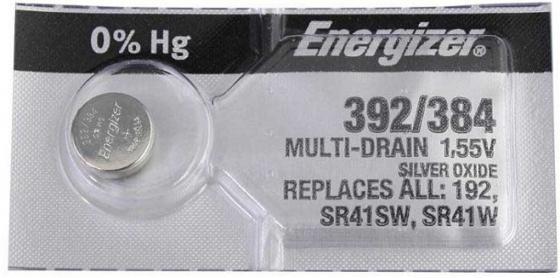 Батарейка Energizer Silver Oxide 392/384 392/384 1 шт 634976