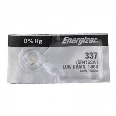 Батарейка Energizer Silver Oxide 337 SR416SW 1 шт 635317E1093601